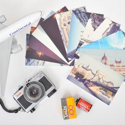 모노라이크 트래블 포스트카드 부다페스트 엽서 12P세트