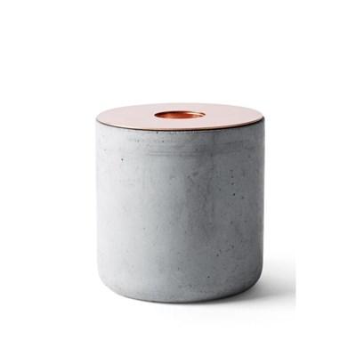 Chunk Concrete Candleholder L