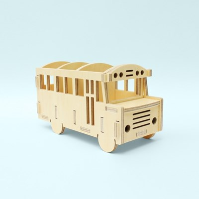 [Bezit] SCHOOL BUS multi-storage(다용도 수납)