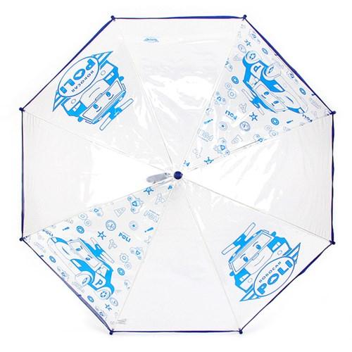 로보카폴리 투명우산 50 고급형/단체선물/아동 장우산/비닐우산