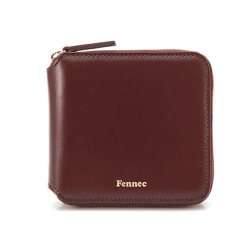 Fennec Zipper Wallet - Wine