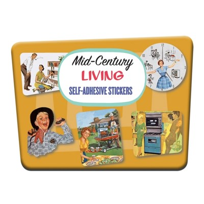 스타일리시한 테마별 빈티지 스티커 - SP11 MidCentury Living