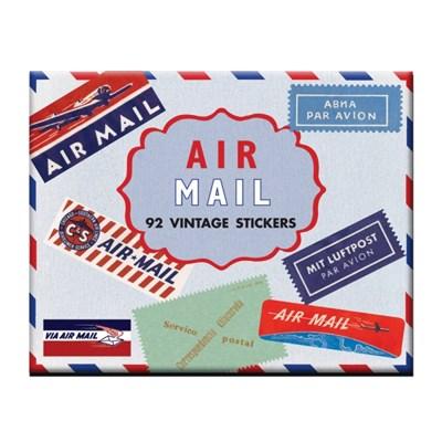 스타일리시한 테마별 빈티지 스티커 - LB-34508 Air Mail