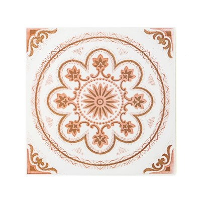 Decolfa 타일 스티커 - 오렌지 (M4001)