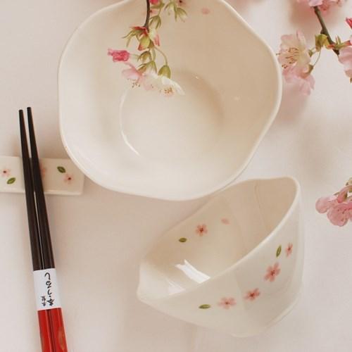 벚꽃시리즈_공기/대접