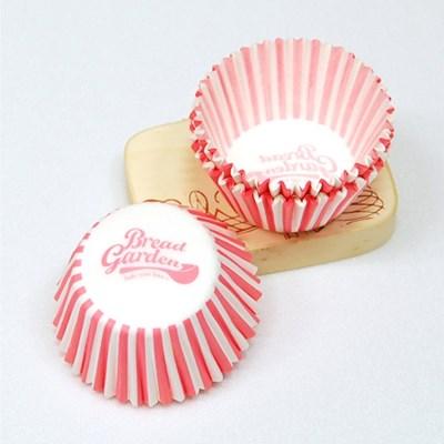 미니베이킹컵(핑크로고/32mm/100매) no.5530