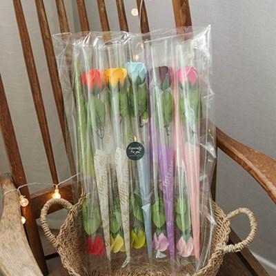 향기로운 비누장미 한송이꽃다발 10개set