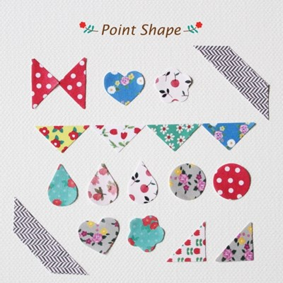 Deco Sticker-Point Shape
