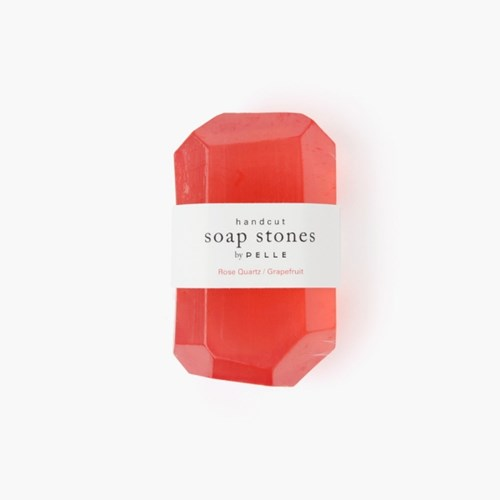 Soap Stone STONE 6oz, Rose Quartz/Grapefruit