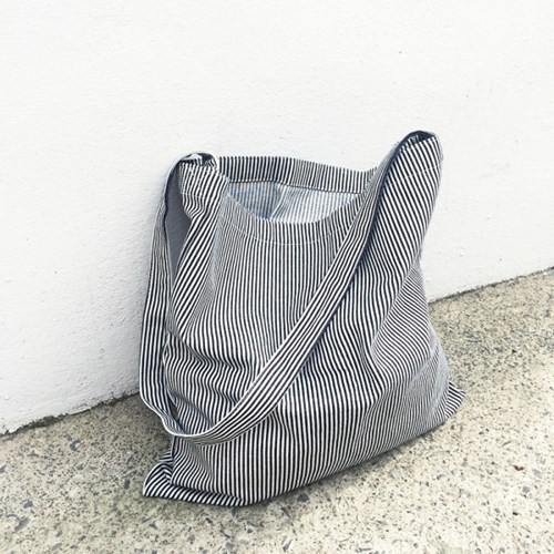 Easy Bag Square (DEEP STRIPE)