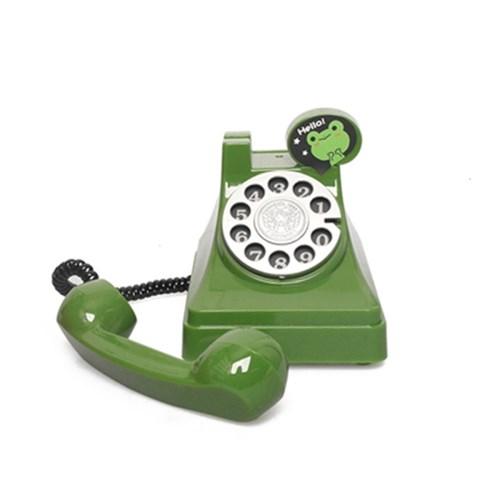 귀여운 레트로전화기 저금통