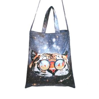 Light Waterproof Bag _ Tiger in the space