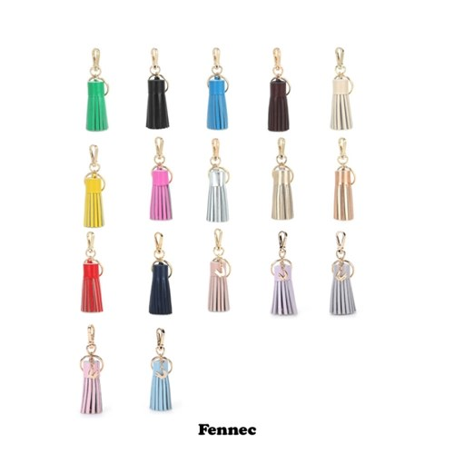 Fennec leather tassel