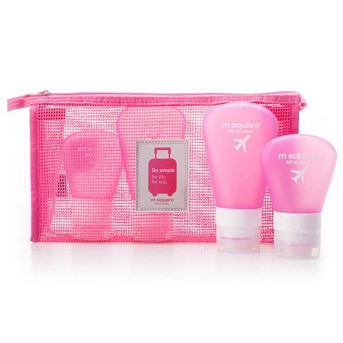 여행용 수납 매쉬 파우치 beauty pouch(M)