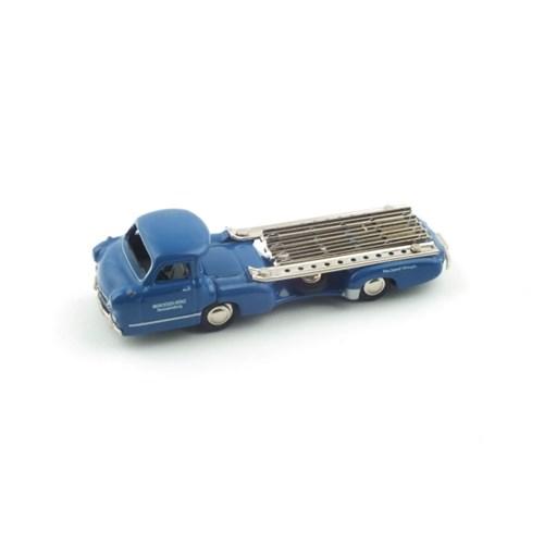 1/87 Mercedes Renntransporter (PC071001BL) 벤츠 견인트럭 모형