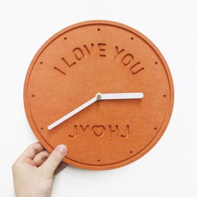 [메세지삽입]주문제작 벽시계 메세지-Ordermade Clock MESSAGE