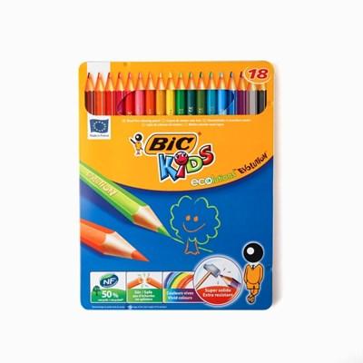 에볼루션 메탈 18색 색연필