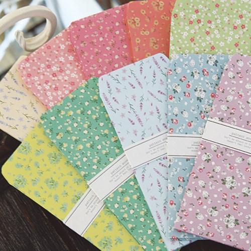 FB501 꽃 인쇄 봉투세트