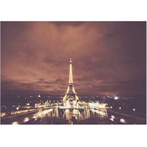에펠탑 야경 - 폼보드 감성사진 액자