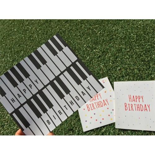 생일축하 미니편지지 시리즈