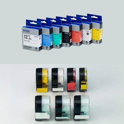 정품 엡손 라벨테이프 9mm (컬러선택)