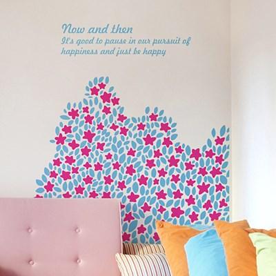 들꽃언덕 (작은꽃) / 그래픽스티커