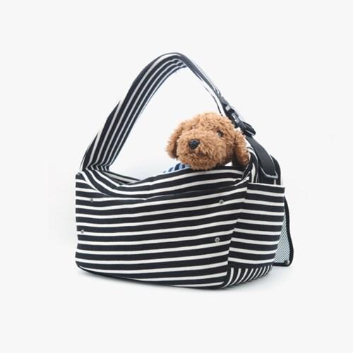 Daily Slingbag - (Stripe Black)