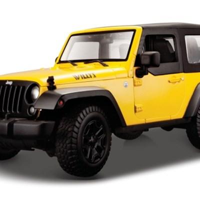 1:18 스페셜 2014 지프 렝글러/짚/Jeep Wrangler