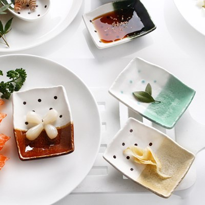 로코 일본산 방울방울 사각종지