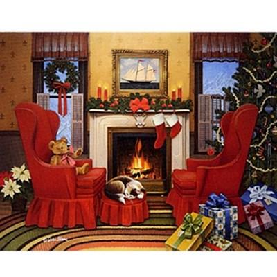 크리스마스카드 - CHRISTMAS HEARTH