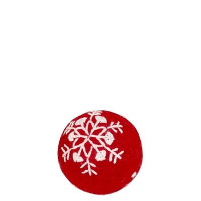 스노우 패턴펠트볼 -5cm,8cm_(264024)