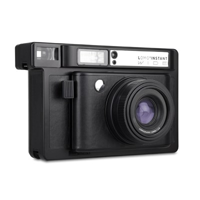 로모 인스턴트 와이드 카메라 - 블랙 (단품)