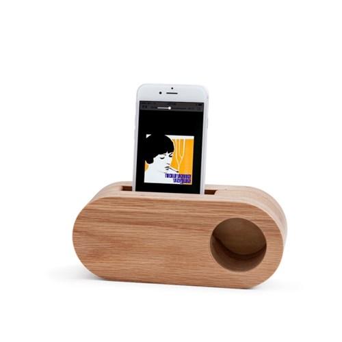 Echo Speaker / Oak Mono