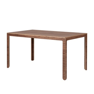 Angle Table / Walnut