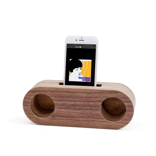 Echo Speaker / Walnut Stereo