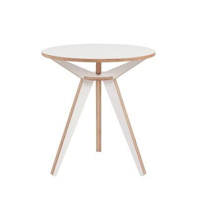 Tripod Teatable / White