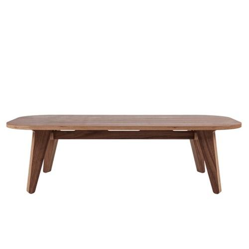 Low Round Table / Walnut