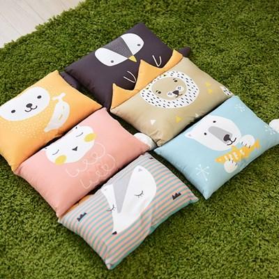 [미미루] 신생아 유아베개 동물캐릭터 디자인 6종 택1_(419181)