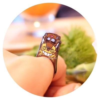[POP RING] 이웃집 토토로 - 고양이버스