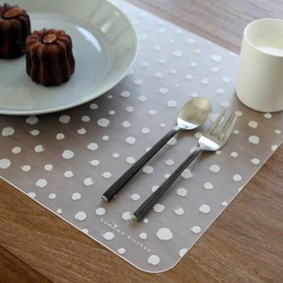 드로잉 도트 테이블 매트 2p