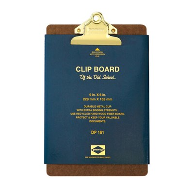 Penco Clipboard O/S Gold - A5