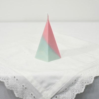 오각뿔캔들 - pink x mint