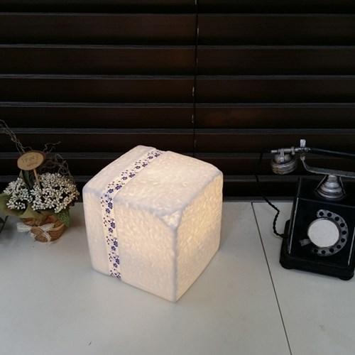 [LAMPDA] LED 세라믹 큐브 스탠드
