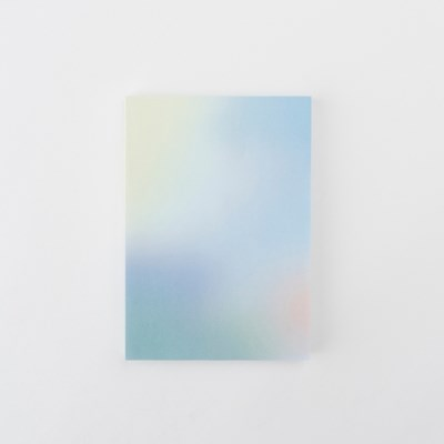 Blue Afterimage Note pad
