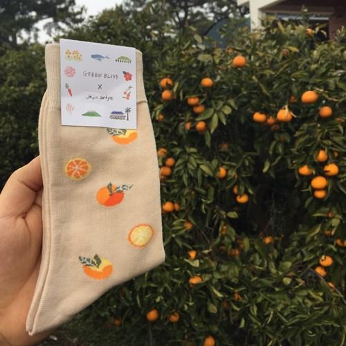[Organic cotton] Jeju artye Citrus
