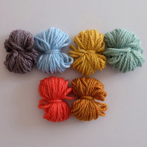 Variety color yarn (6 colors)_Limited