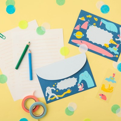 [AIUEO] Cheerful Letter Set