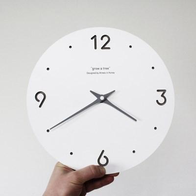 [각인 주문제작]숫자 무소음 모던 벽시계B
