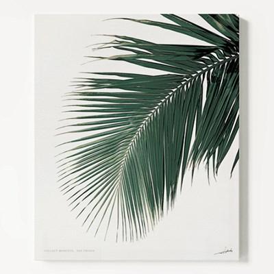 캔버스 북유럽 식물 나뭇잎 인테리어 액자 야자수A