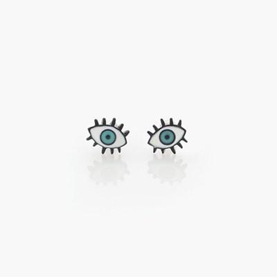 제이로렌 M01351 아트 눈모양 써지컬스틸 피어싱